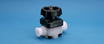 Sani-Tech® Manual Diaphragm Valve