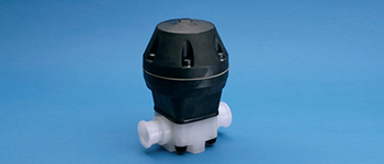 Sani-Tech® Air Actuated Diaphragm Valve