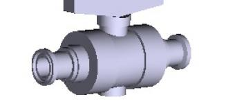 Sani-Tech® 2-Way Ball Valve