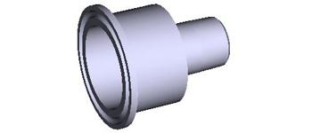 "Sani-Tech® 1 1/2"" Tri-Clamp x NPT Adapters"